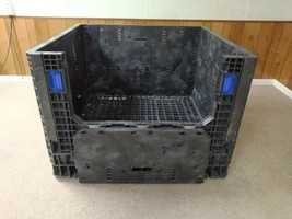 """Bulk Crate, Collapsible Knockdown 48"""" L x 45"""" W 34"""" H - $85.00"""
