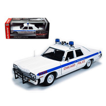 1974 Dodge Monaco Chicago Department Police Car Limited to 2000pc 1/18 D... - $111.69