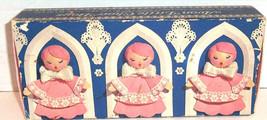 Avon Pink Hostess Soaps LITTLE CHOIR BOYS Set of 3 Fragranced Soap Vtg - $9.49