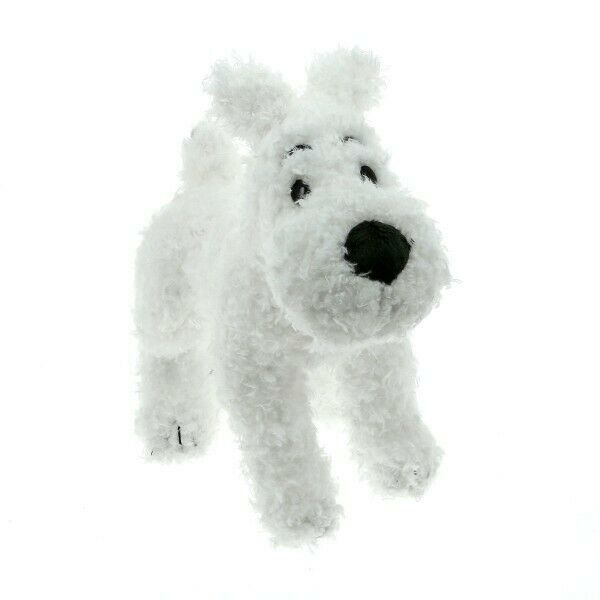 Snowy soft plush figurine Official Tintin product 20 cm