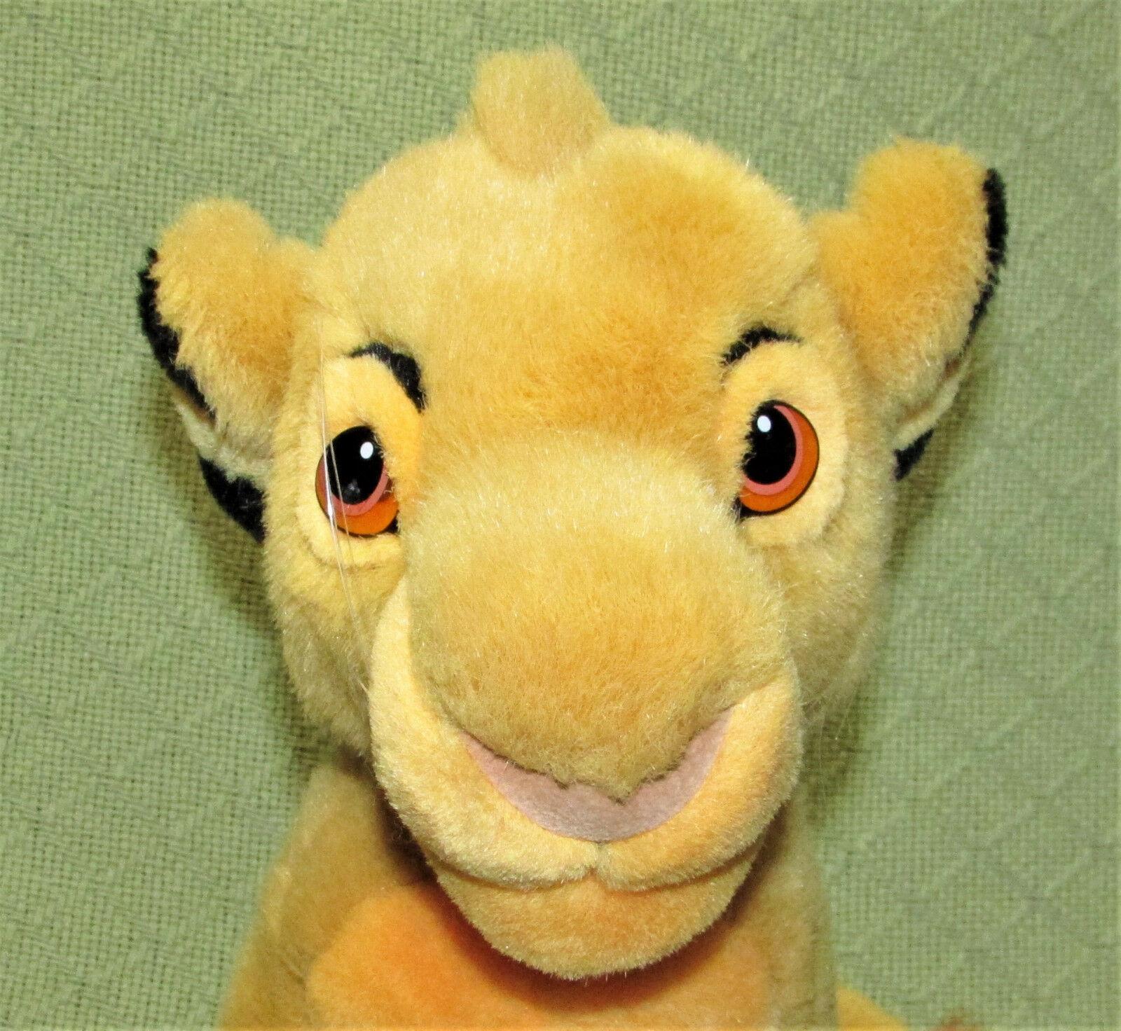 """14"""" SIMBA Young Lion King Plush Stuffed Disney Store CUB Plush Stuffed Animal  image 4"""