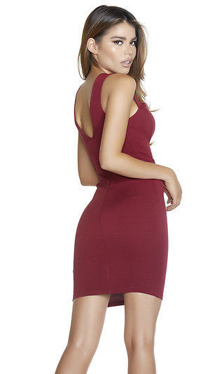 Forplay Wine or Dine Me Mini Dress 886833 ~ Burgundy or Black