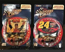Jeff Gordon #24 Die-Cast Collector Driver Sticker Series RCC AAA19-NC8016 image 1