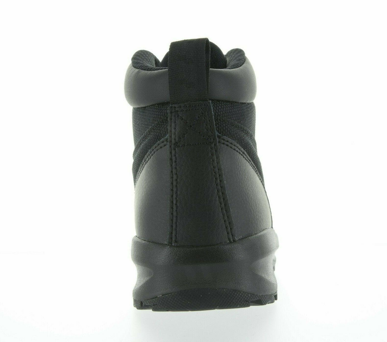 GS Nike Manoa Black//Black-Black AJ1280 001