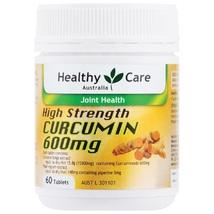 Healthy Care High Strength Curcumin 600mg 60 Tablets - $72.38