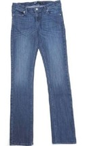 Levi's Girls Skinny Stretch Denim Adjustable Waistband, Blue, Size 14 Reg - $19.79