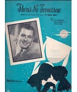 "There's No Tomorrow 1940 Sheet Music Italian Folk Song ""O Sole Mio"" Hoff... - $2.50"