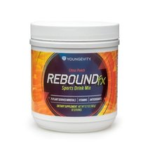 Citrus Punch Powder Sports Drink Rebound FX - 360 G Canister - 6 Pack - $319.47