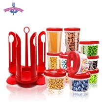 25 PCS/Set Food Storage Box Sealed Snack Organizer Food Container Set Wi... - $44.16