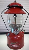"Coleman Model 200A Cherry Red Lantern ""Sunshine Of The Night"" - $368.48"