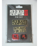 ROCK STAR - RED DEAD REDEMPTION II - PIN SET (New) - $15.00