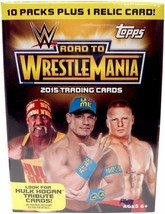 Topps Wwe 2015 Road To Wrestlemania Value Box, Black - $21.77