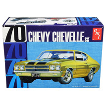 Skill 2 Model Kit 1970 Chevrolet Chevelle SS 1/25 Scale Model by AMT AMT1143M - $48.99