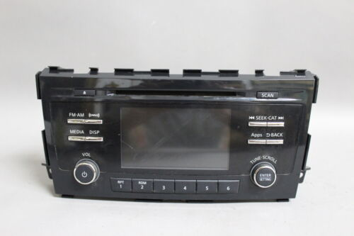 "Primary image for 13 14 15  NISSAN ALTIMA AM/FM RADIO CD PLAYER 5"" SCREEN 281853TA1B OEM"