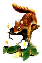 Lenox collections Figurine Springtime scamper red squirrel - $19.00