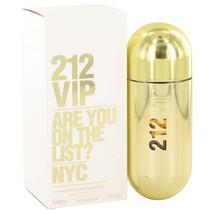 212 Vip by Carolina Herrera 2.7 oz EDP Spray Perfume for Women New in Box - $67.85