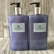 2X VICTORIA London LAVENDER & YLANG Moisturising Hand Wash 16.9 oz ea - $37.61