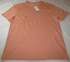 Calvin Klein Jeans Mens short sleeve t shirt XL xlarge 41AK216 Burnt Cor... - $26.72