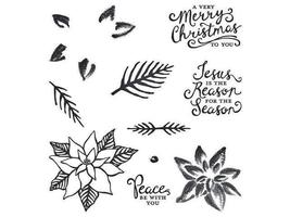 Stampin Up Reason for the Season Stamp Set of 10, & Coordinating Punch included