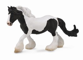 <><  Breyer CollectA 88779 Gypsy mare black/white exceptional well made - $9.65