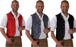 Oktoberfest Waistcoat - Deluxe Wool - like , XS-XXL Bavarian - $43.12