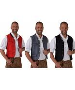 Oktoberfest Waistcoat - Deluxe Wool - like , XS-XXL Bavarian - $47.66