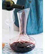 Vintage Decorative Shaped Crystal Glass Wine Decanter Carafe - $11.95