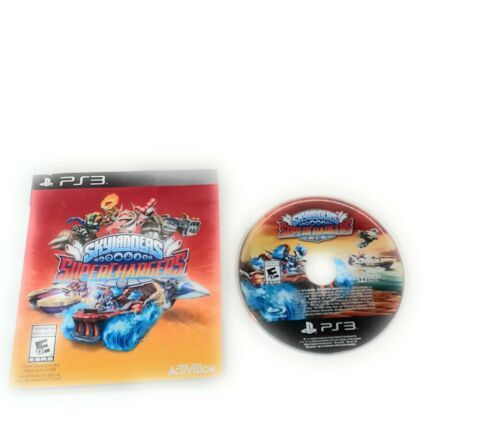 Activision PS3 Playstation 3 Skylanders SuperChargers Super Chargers Racing - $16.82
