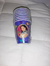 Pocahontas Vintage 1995 9oz Paper Cups (8) Birthday Party New Old Stock - $14.03