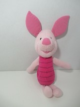 Fisher Price Disney Pooh's friend Piglet plush rattle soft baby toy used - $3.95