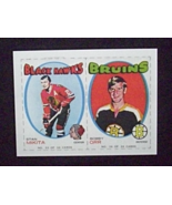 1971 Bazooka Hockey Panel #35-36 Bobby Orr/Stan Mikita [Bruins/Blackhawk... - $5.00