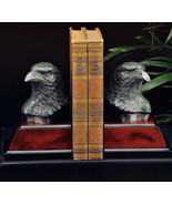 Bookends Eagle Bronzed Patina gift book self new  Bey-Berk - $92.65