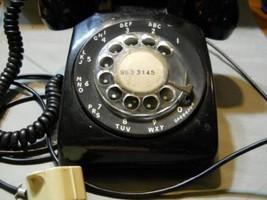 Western Electric  Retro Black Dial Desk Phone - $29.69