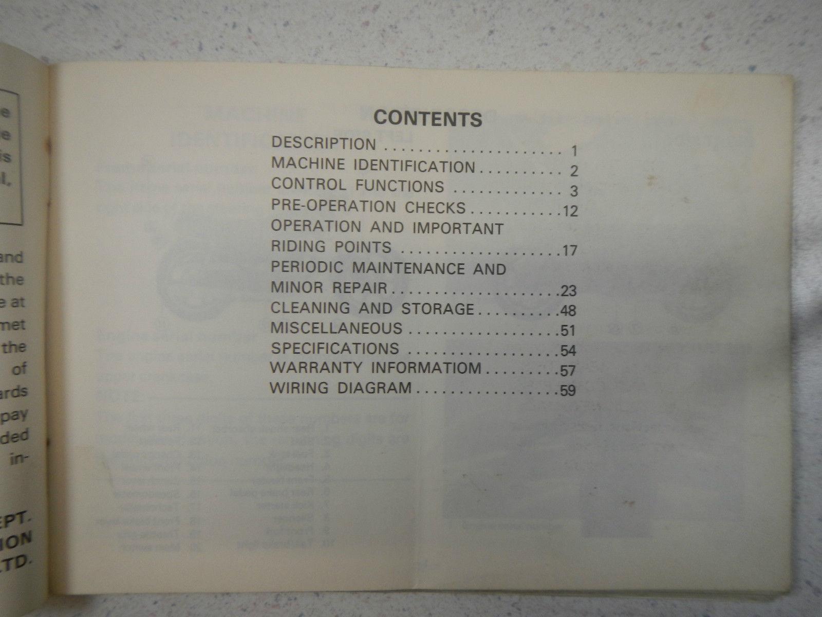 79 Yamaha Xs400 Oem Original Drivers And 16 Similar Items Xs 400 Special Wiring Diagram Owners Riders Manual