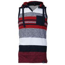 Men's Sport Gym Lightweight Sleeveless Slim Fit Tank Top T-Shirt Hoodie Vest image 5