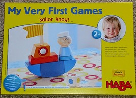 MY VERY FIRST GAMES SAILOR AHOY GAME HABA AGES 2 & UP SEALED BOX MADE IN... - $30.00