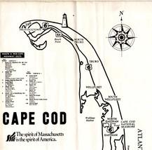 Cape Cod, Massachusetts - Souvenir 6  Booklets - $2.90