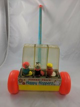 Fisher Price 121 Happy Hoppers Popper Toy Little People 1969 - $22.69