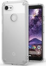 Ringke Fusion Designed for Google Pixel 3 Case Clear Transparent PC Back TPU - $18.60