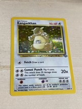 Pokemon Card-1999 Kangaskhan Holo Rare Jungle Set Near Mint 5/64 - $19.80