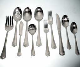 Lenox Butler's Gourmet Stainless 54 Piece Place Setting Service for 8 New - $389.90
