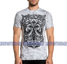 Affliction Midnight Dirge A20413 Short Sleeve Fashion Graphic T-shirt For Men - $53.85+