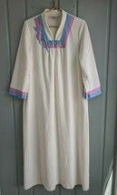 Vintage Vanity Fair Womens Petite Large PL LP House Robe Gown Velour MOD... - $66.75