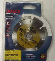 "Bosch DB441C 4"" Preminum Diamond Segmented Saw Blade Brick Block Stone - $6.93"