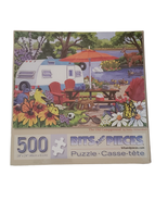 The Old Campground Jigsaw Puzzle by Bits and Pieces 500 Pieces Sealed No... - $11.99