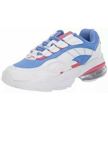 Puma Women's Cell Venom Shift 2 Running Shoes White/Blue Glimmer - $46.75