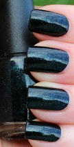 OPI Go Goth ~UNRIPENED~ Black Duochrome Teal Blue Purple Nail Polish Lac... - $32.90