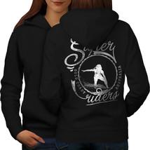 Surf Australia Holiday Sweatshirt Hoody Surfer Life Women Hoodie Back - $21.99+