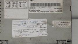 Volkswagen Golf Jetta CC EOS CD Satellite Player Radio Stereo 3co-035-684 image 6