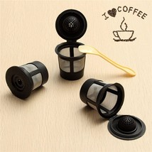 Reusable K-Cups for Keurig 1.0 & 2.0 3-Pack plus Spoon Fits Most K-Cup Brewers - $5.93